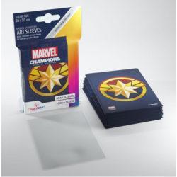 Gamegenic Marvel Champions Art Sleeves - Captain Marvel (50)