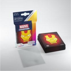 Gamegenic Marvel Champions Art Sleeves - Iron Man (50)