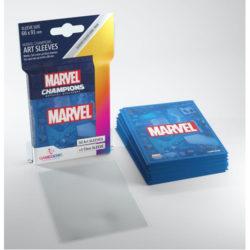 Gamegenic Marvel Champions Art Sleeves - Marvel Blue (50)