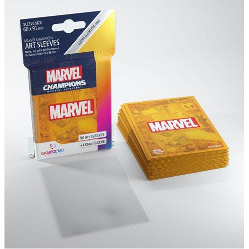 Gamegenic Marvel Champions Art Sleeves - Marvel Orange (50)