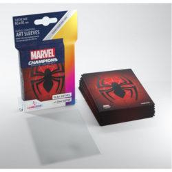 Gamegenic Marvel Champions Art Sleeves - Spider Man (50)