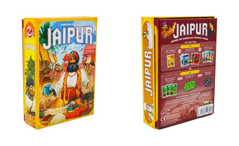 Jaipur 2nd Edition front and back