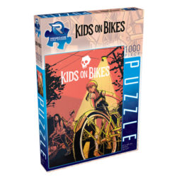 Kids On Bikes Jigsaw Puzzle (1000 pieces)