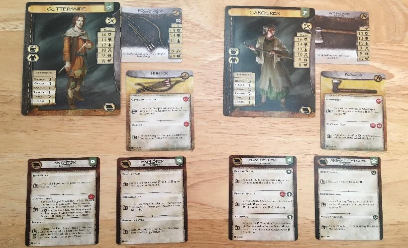 LeUn Character Cards