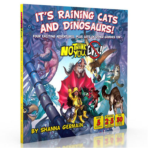 No Thank You Evil: It's Raining Cats And Dinosaurs