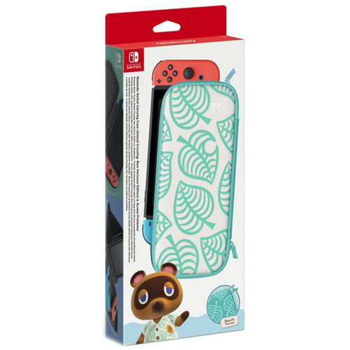 Switch Animal Crossing: New Horizons Carrying Case & Screen Protector