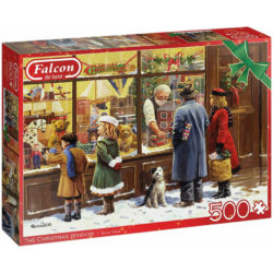 The Christmas Window 500 pieces