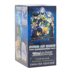 WS Booster Box: Sword Art Online -Alicization-