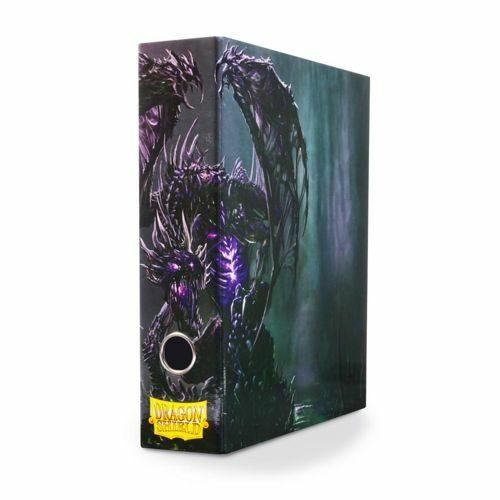 *A Grade* Dragon Shield Slipcase Binder Black Art Dragon