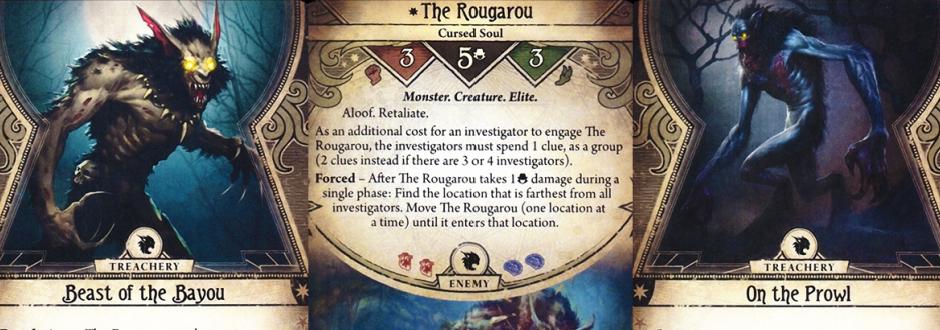 Arkham Horror LCG Curse Of The Rougarou