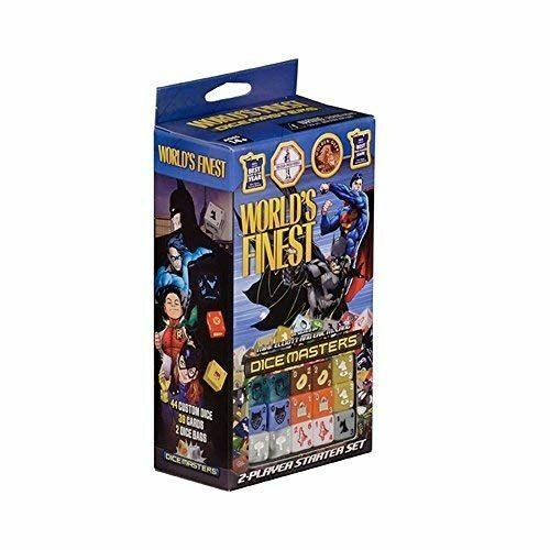 *B Grade* DC Dice Masters: World's Finest Starter