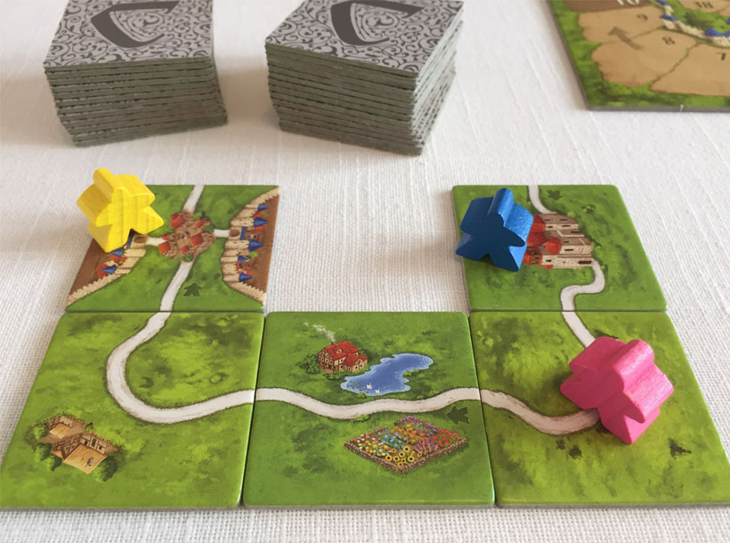 Carcassonne Set Up