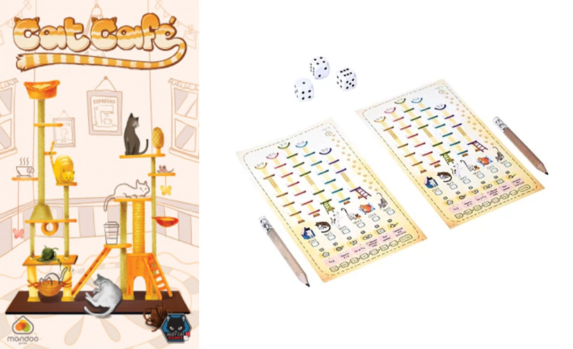 Roll and Write: Cat Cafe
