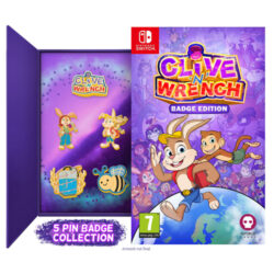 Clive 'n' Wrench Badge Collectors Edition - Nintendo Switch