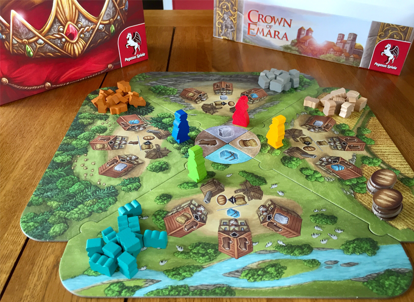 Crown of emara components