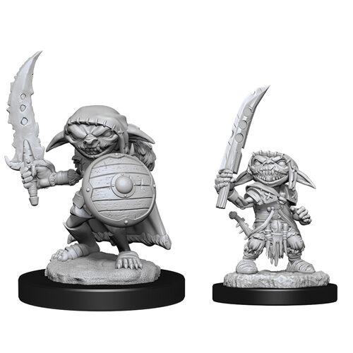D&D Nolzur's Marvelous Unpainted Miniatures (Wave 13): Goblin Fighter Male