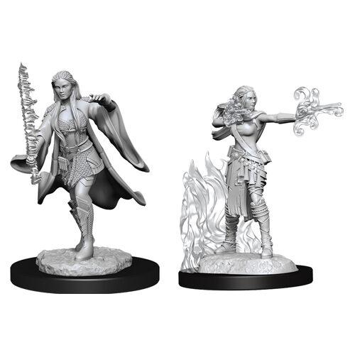 D&D Nolzur's Marvelous Unpainted Miniatures (Wave 13): Multiclass Warlock + Sorcerer Female