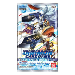 Digimon Card Game: Release Special Ver.1.0 (BT01-03) Booster Pack