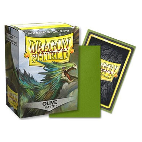 Dragon Shield Matte - Olive (100)