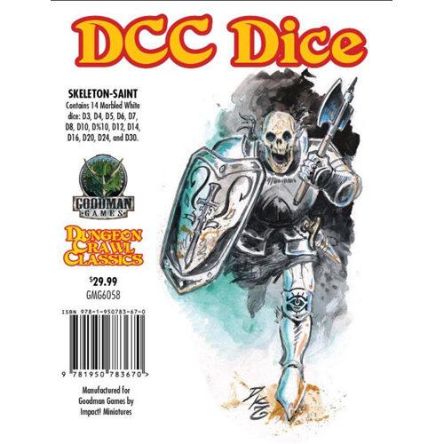 Dungeon Crawl Classics RPG: Skeleton Saint Dice