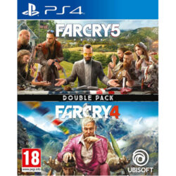 Far Cry 4 & Far Cry 5 - Double Pack - PS4