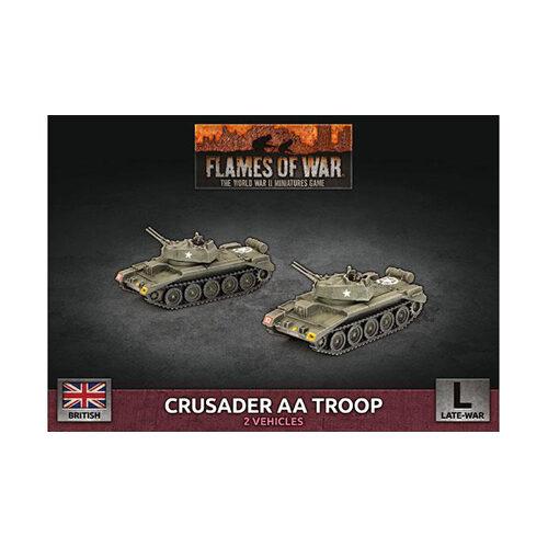 Flames of War: Crusader Armoured AA Platoon (x2 Plastic)