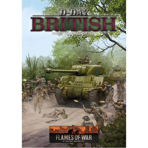 Flames of War: D-Day British (LW 80p A4 HB)