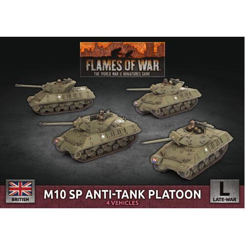 Flames of War: M10 SP Anti-Tank Troop (x4 Plastic)