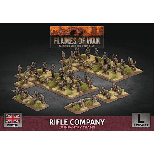 Flames of War: Rifle Company (96 figs Plastic)