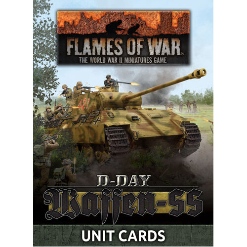 Flames of War: Waffen-SS Unit Card Pack (43 cards)