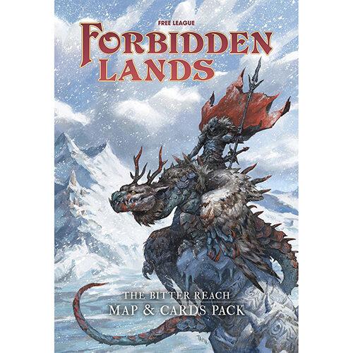 Forbidden Lands - The Bitter Reach Maps and Card Pack
