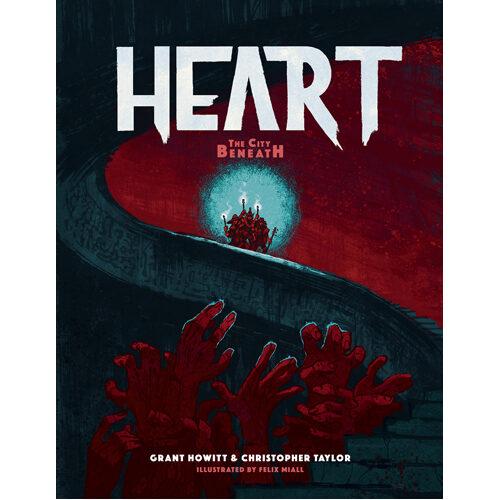 Heart: The City Beneath RPG - Core Book