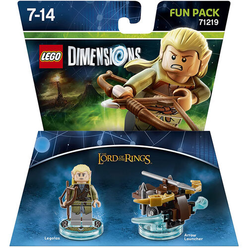 Lego Dimensions: Fun Pack - Legolas (Lord of the Rings)