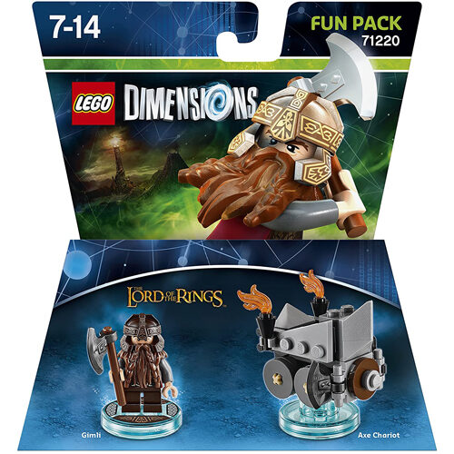 Lego Dimensions: Fun Pack - Lord of the Rings Gimli