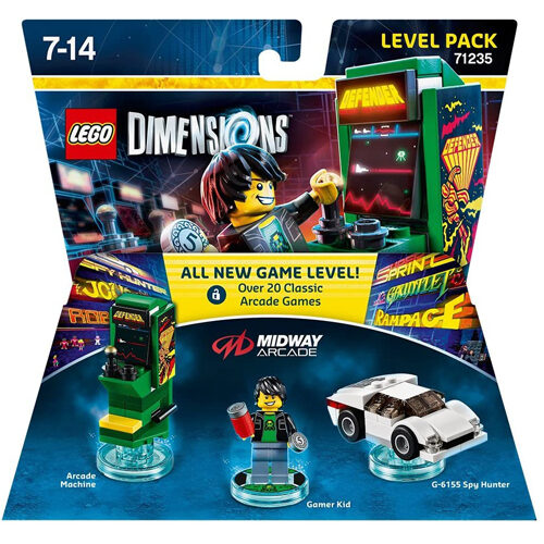 Lego Dimensions: Level Pack - Midway Retro Gamer