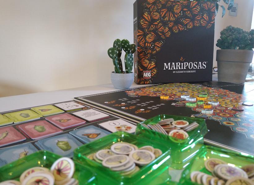 Mariposas set up