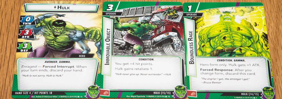 Marvel Champions Hulk Feature