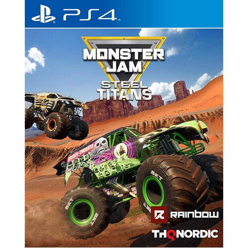 Monster Jam Steel Titans - PS4