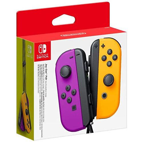 Nintendo Switch Joy-Con Pair Neon Purple / Orange