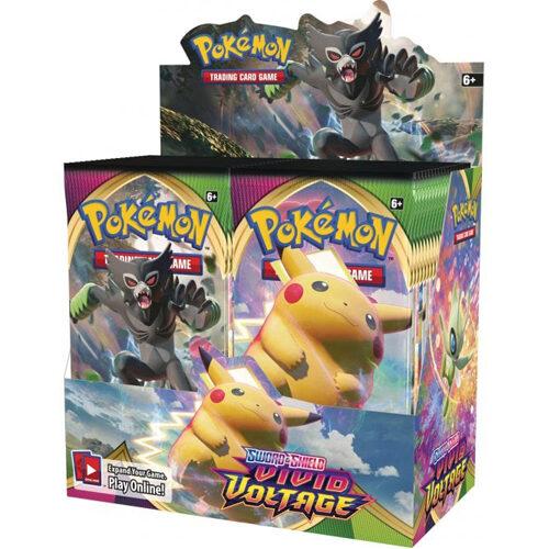Pokemon TCG: Sword & Shield 4 Vivid Voltage Booster Box