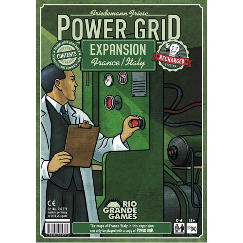 Power Grid Recharged: Italy/France Expansion