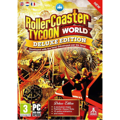 RollerCoaster Tycoon World Deluxe Edition - PC