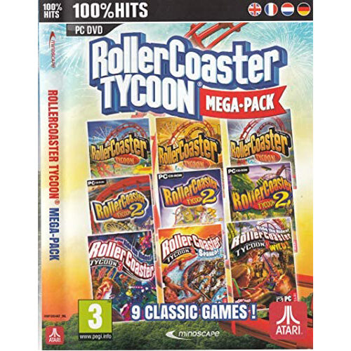 Rollercoaster Tycoon (9 Megapack) - PC