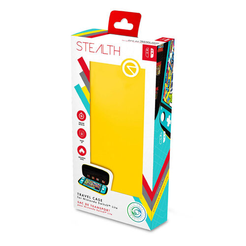 STEALTH Travel Case for Nintendo Switch Lite - Yellow