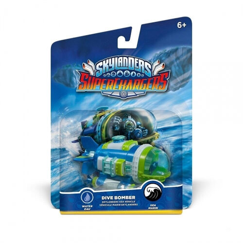 Skylanders SuperChargers - Vehicle - Dive Bomber