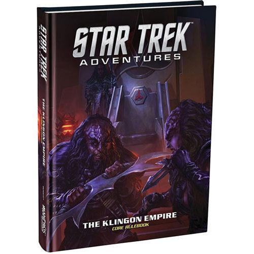 Star Trek Adventures RPG: The Klingon Empire Core Rulebook