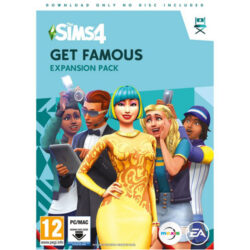The Sims 4: Get Famous - (Code-in-a-Box) - PC