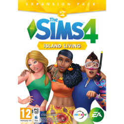 The Sims 4: Island Living - (Code-in-a-Box) - PC