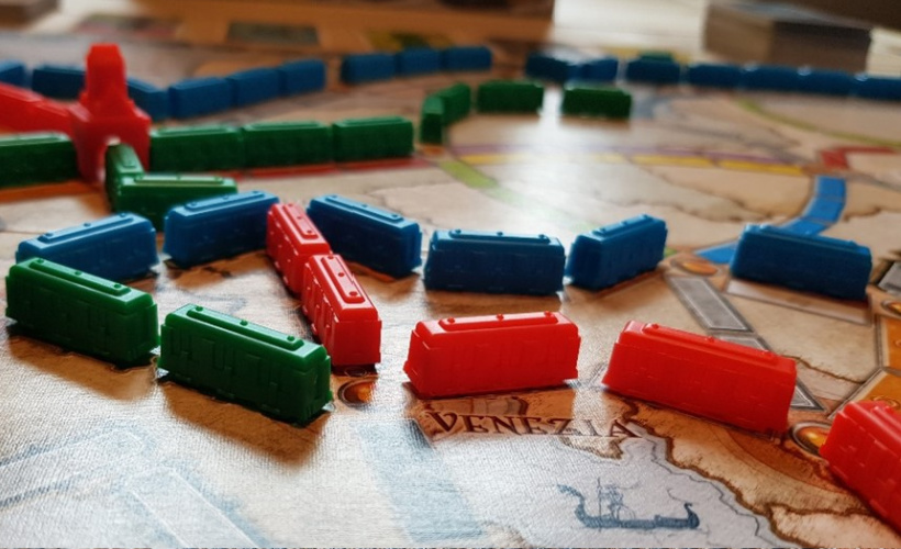 Ticket to Ride Europe Trains