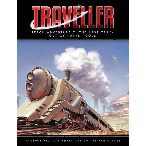 Traveller: The Last Train Out of Rakken-Goll Adventure